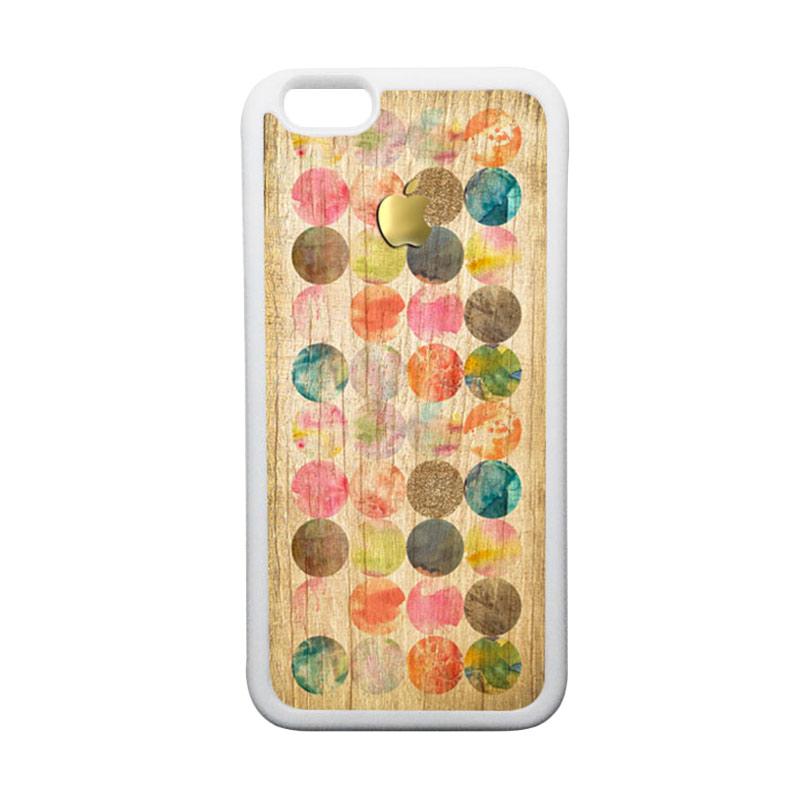 HEAVENCASE Apple 10 TPU Bumper Putih Softcase Casing for iPhone 6 or iPhone 6S
