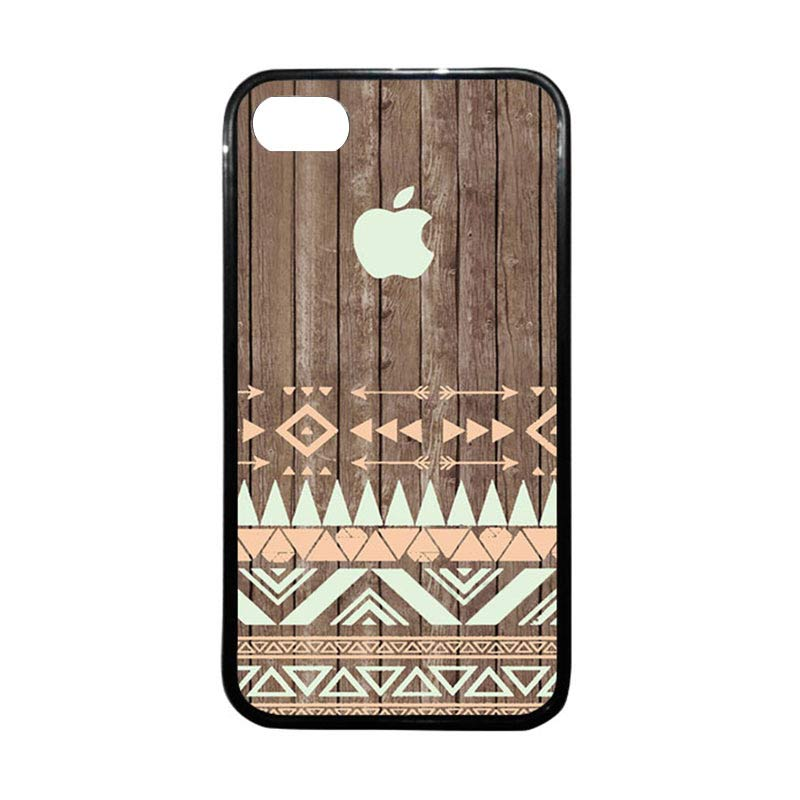 HEAVENCASE Apple 13 Hitam Casing for iPhone 4 or iPhone 4S