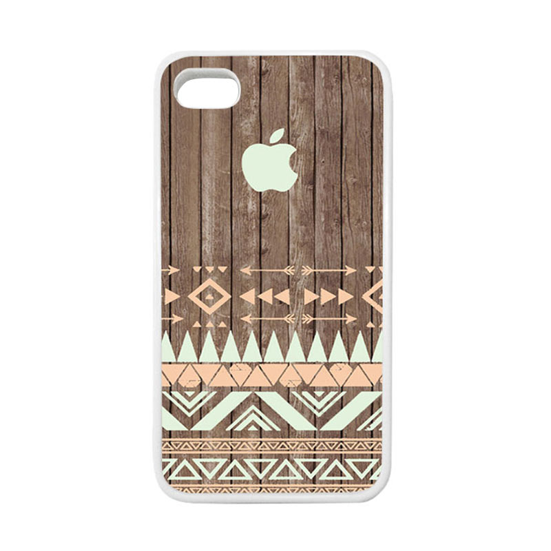 HEAVENCASE Apple 13 Putih Casing for iPhone 4 or iPhone 4S