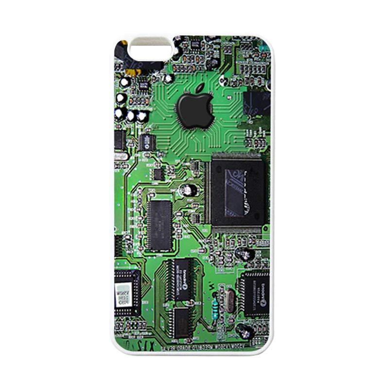 HEAVENCASE Apple 14 Putih Casing for iPhone 6 Plus or iPhone 6s Plus