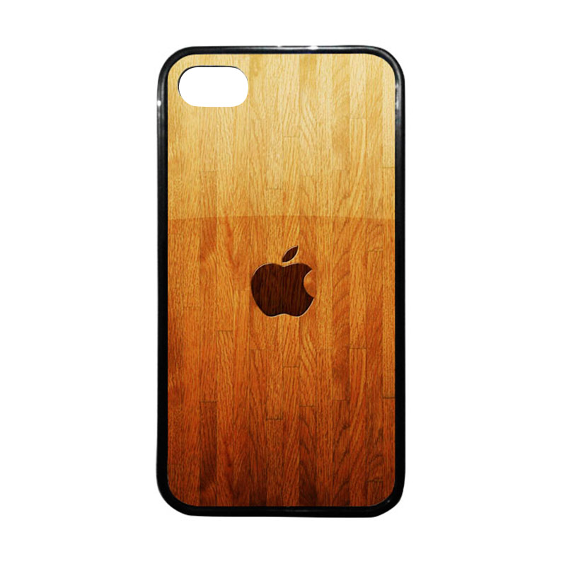 HEAVENCASE Apple 15 Hitam Softcase Casing for iPhone 4 or iPhone 4s