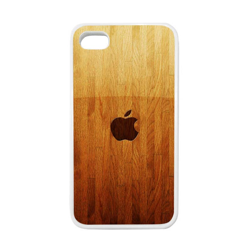 HEAVENCASE Apple 15 Putih Casing for iPhone 4 or iPhone 4S