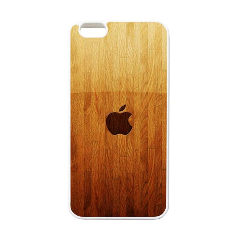 HEAVENCASE Apple 15 Putih Casing for iPhone 6 Plus or iPhone 6s Plus