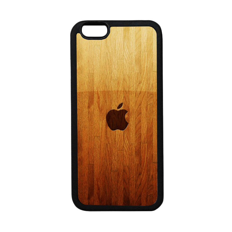 HEAVENCASE Apple 15 TPU Bumper Hitam Softcase Casing for iPhone 6 or iPhone 6S