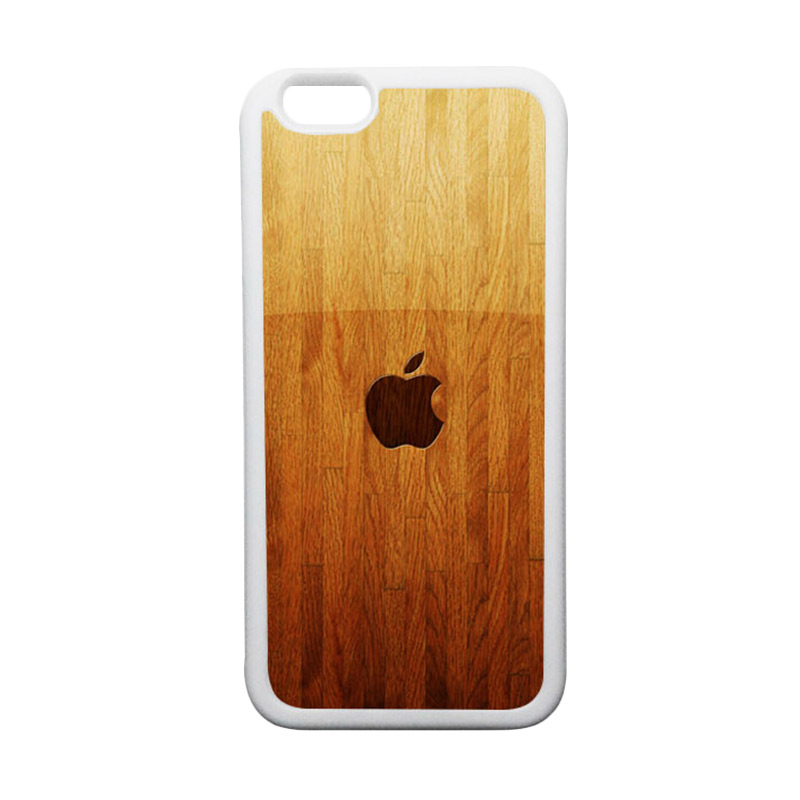 HEAVENCASE Apple 15 TPU Bumper Putih Softcase Casing for iPhone 6 or iPhone 6S