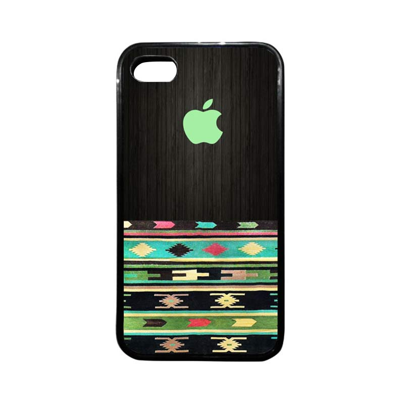 HEAVENCASE Apple 16 Hitam Softcase Casing for iPhone 4 or iPhone 4s