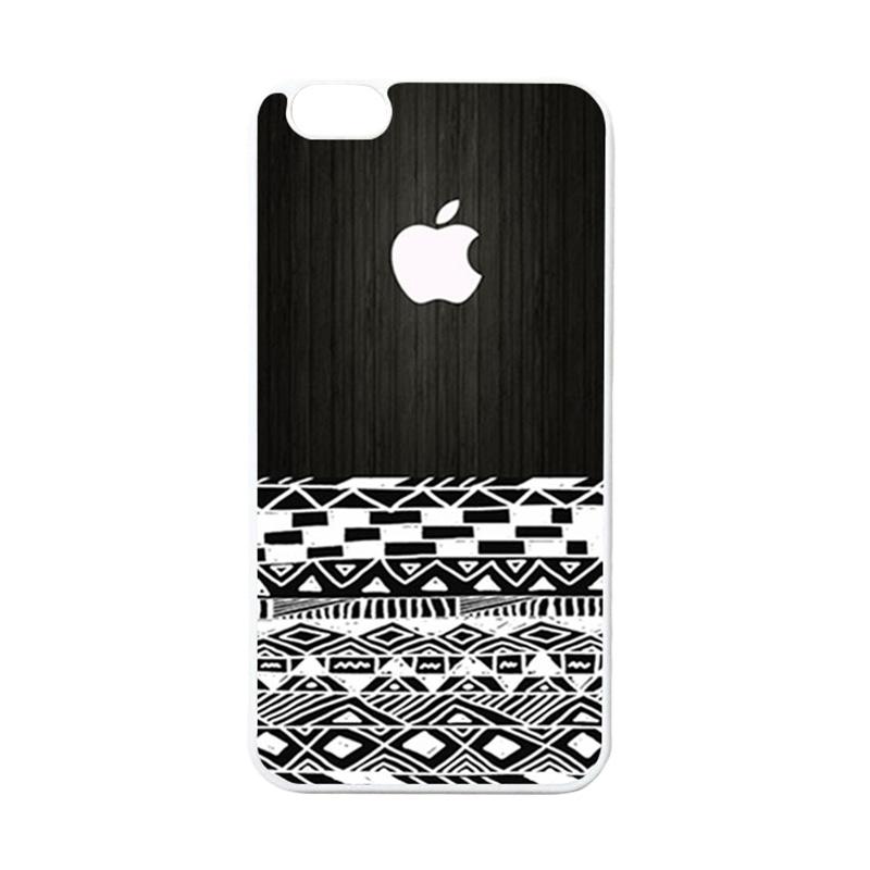 HEAVENCASE Apple 17 Putih Casing for iPhone 6 Plus or iPhone 6S Plus