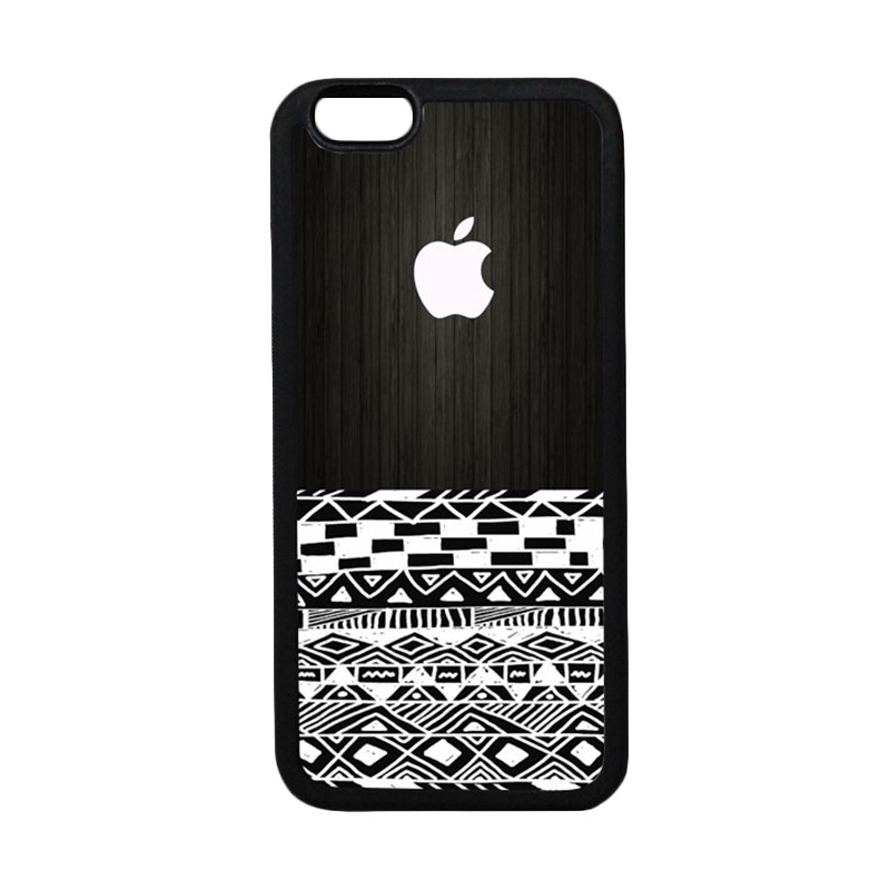 HEAVENCASE Apple 17 TPU Bumper Hitam Softcase Casing for iPhone 6 or iPhone 6S