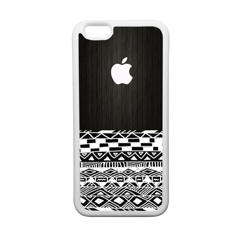 HEAVENCASE Apple 17 TPU Bumper Putih Softcase Casing for iPhone 6 or iPhone 6S