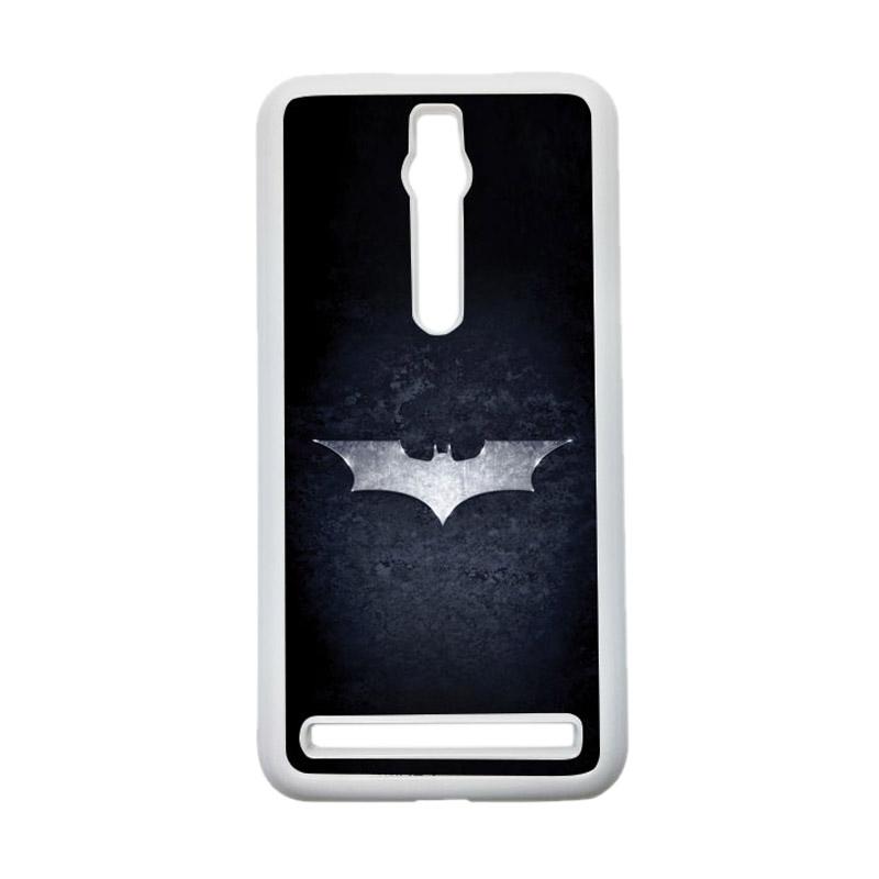 HEAVENCASE Batman 01 Hardcase Casing for Asus Zenfone 2 ZE551ML or ZE550ML - Putih