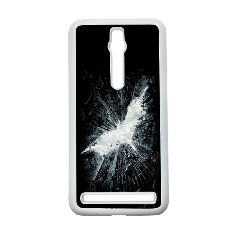 HEAVENCASE Batman 07 Hardcase Casing for Asus Zenfone 2 ZE551ML or ZE550ML - Putih