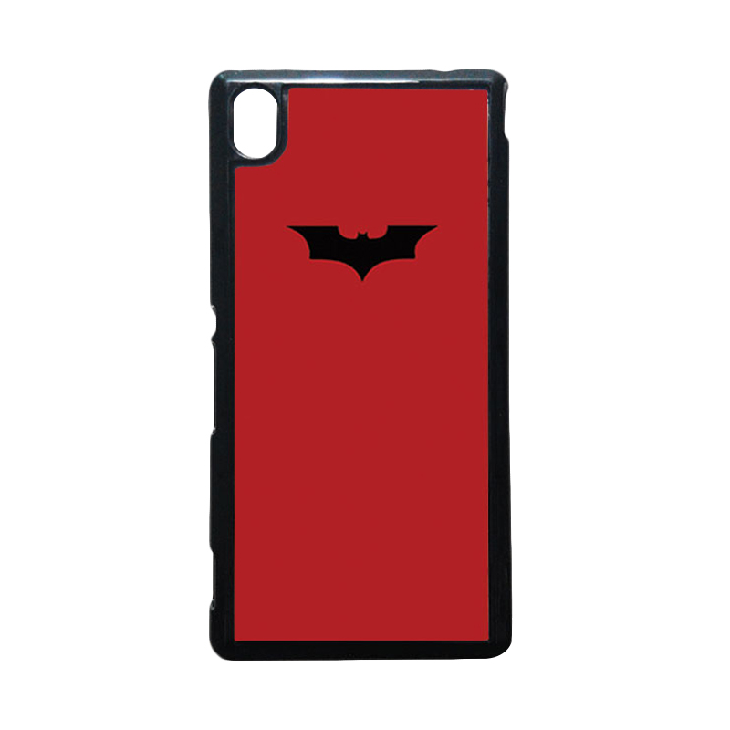 HEAVENCASE Batman 09 Hitam Hardcase Casing for Sony Xperia M4 Aqua
