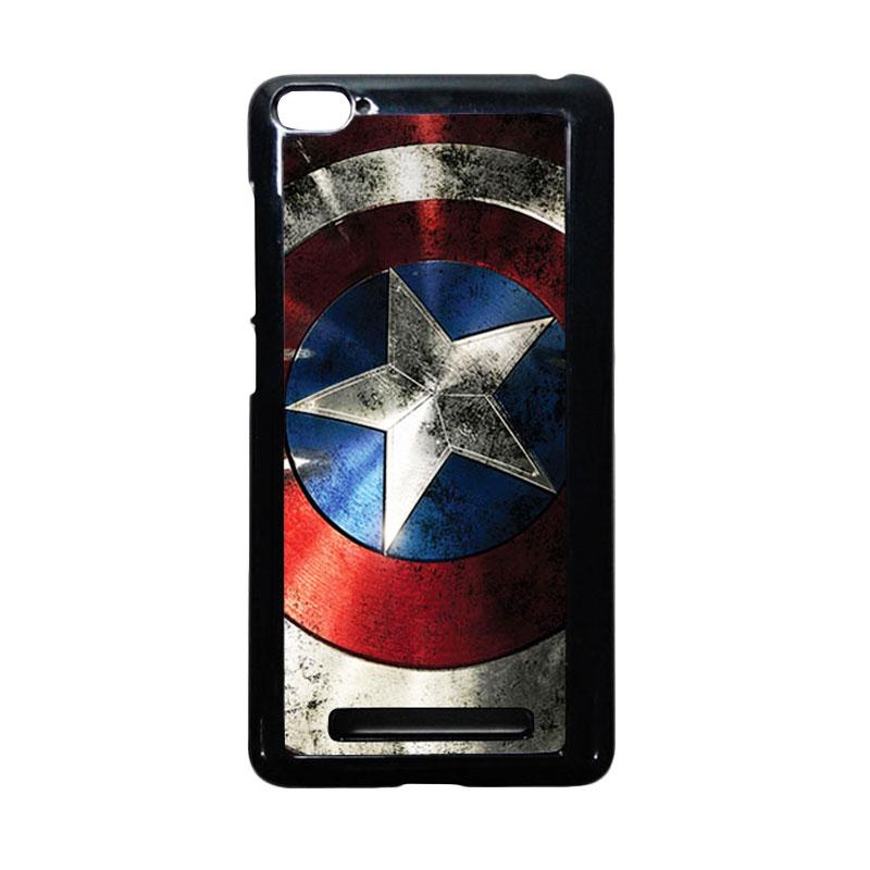 harga HEAVENCASE Captain America 06 Hitam Hardcase Casing for Xiaomi Mi4i or Xiaomi Mi4c Blibli.com