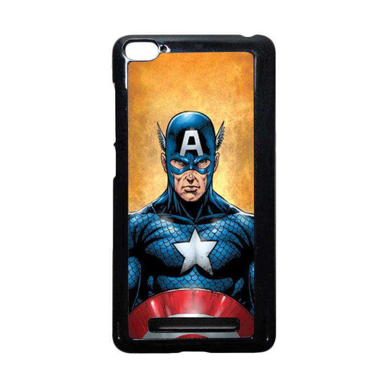 harga HEAVENCASE Captain America 14 Hitam Hardcase Casing for Xiaomi Mi4i or Xiaomi Mi4c Blibli.com