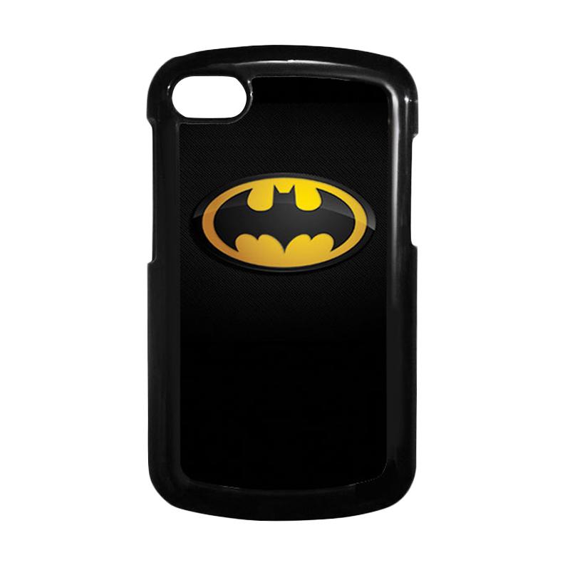 HEAVENCASE Batman 04 Hitam Hardcase Casing Blackberry Q10
