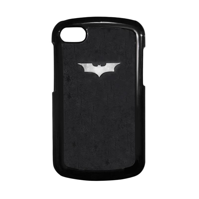 HEAVENCASE Batman 06 Hitam Hardcase Casing Blackberry Q10