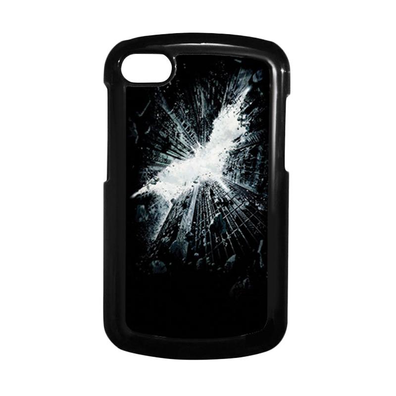 HEAVENCASE Batman 07 Hitam Hardcase Casing for Blackberry Q10