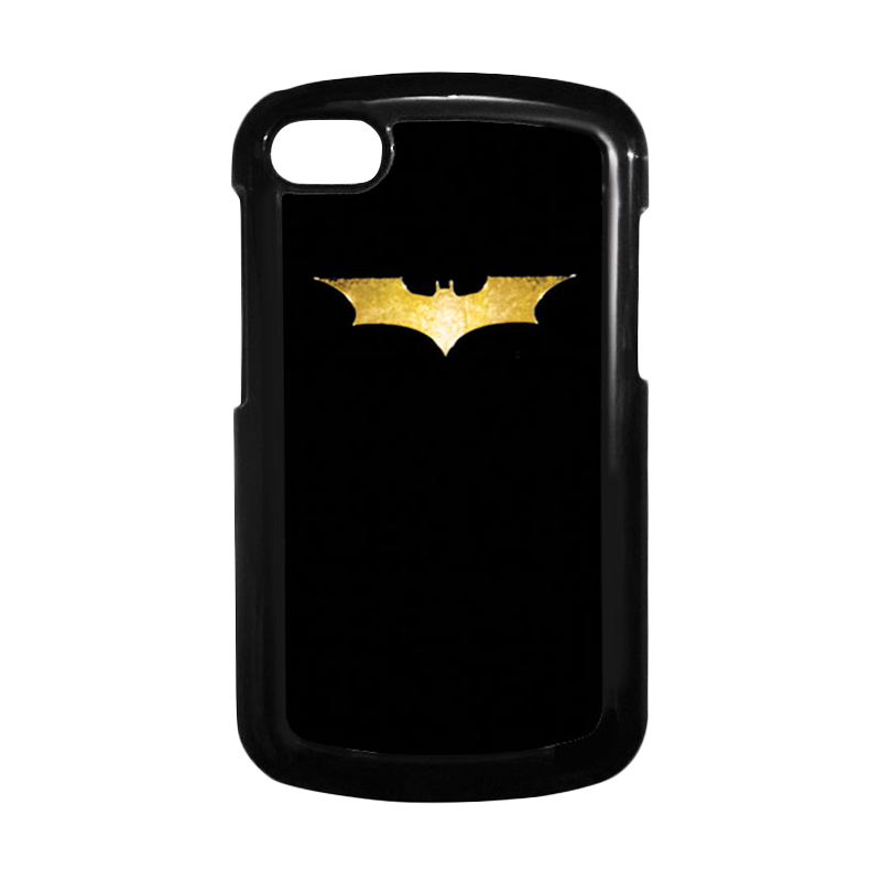 HEAVENCASE Batman 08 Hitam Hardcase Casing for Blackberry Q10