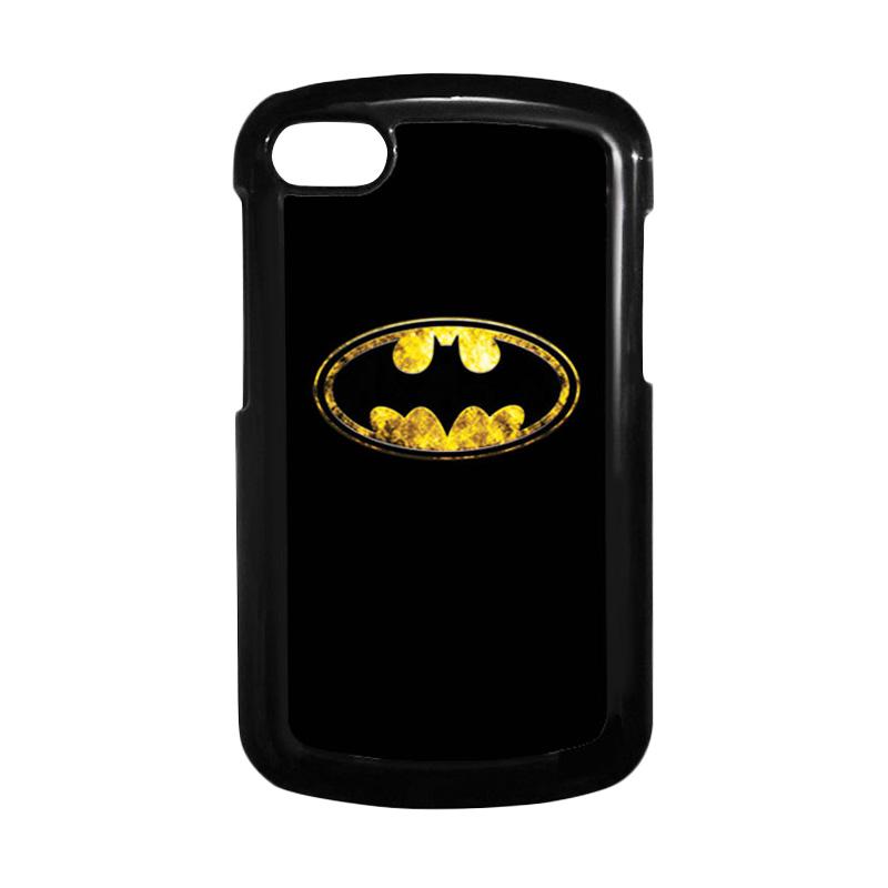 HEAVENCASE Batman 10 Hitam Hardcase Casing for Blackberry Q10