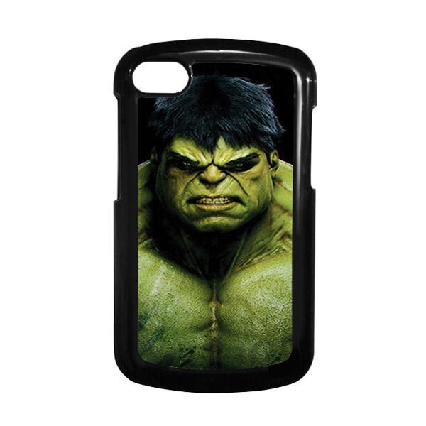 HEAVENCASE Hulk 01 Hitam Hardcase Casing for Blackberry Q10