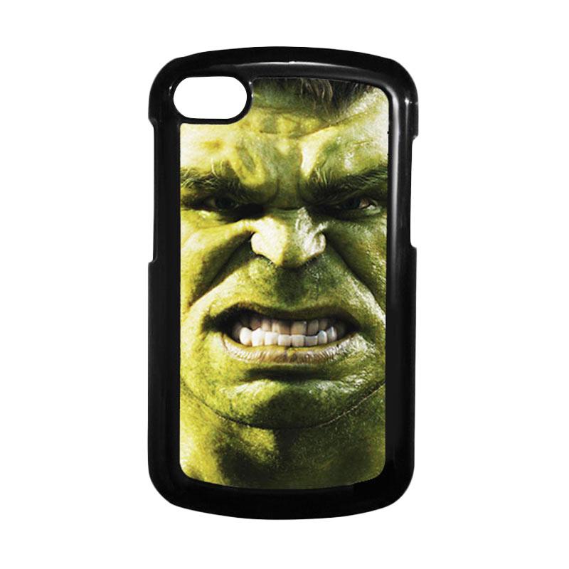 HEAVENCASE Hulk 02 Hitam Hardcase Casing for Blackberry Q10