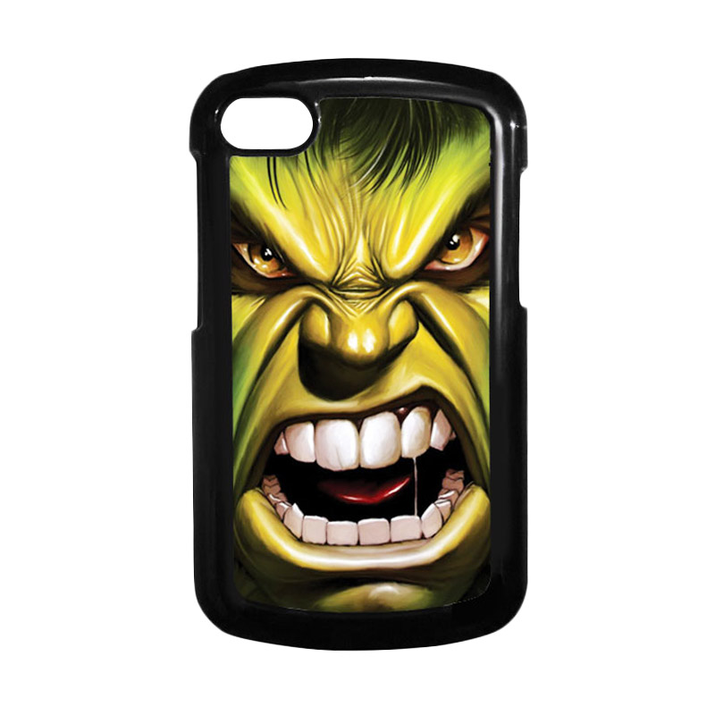 HEAVENCASE Hulk 03 Hitam Hardcase Casing for Blackberry Q10