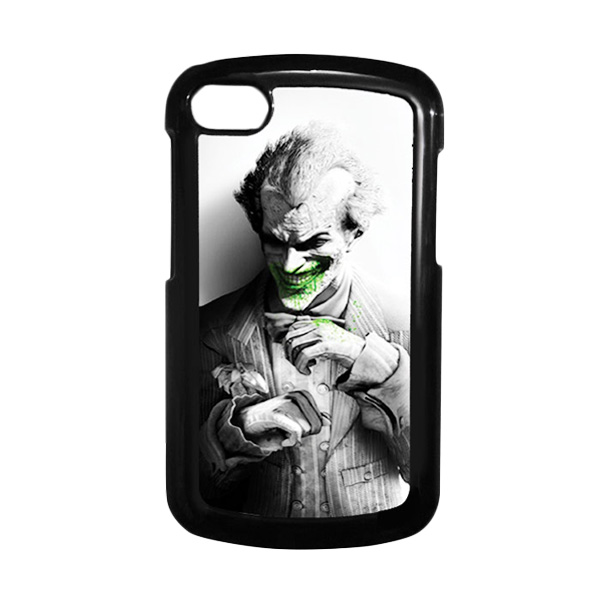 HEAVENCASE Joker 01 Hitam Hardcase Casing for Blackberry Q10