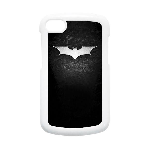 HEAVENCASE Batman 01 Hardcase Putih Casing for Blackberry Q10