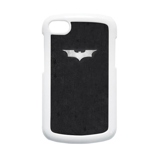 HEAVENCASE Batman 06 Putih Hardcase Casing for Blackberry Q10