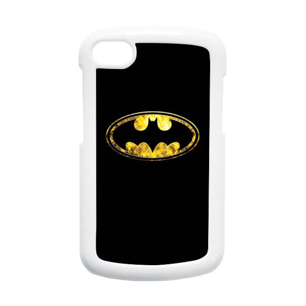 HEAVENCASE Batman 10 Hardcase White Casing for Blackberry Q10