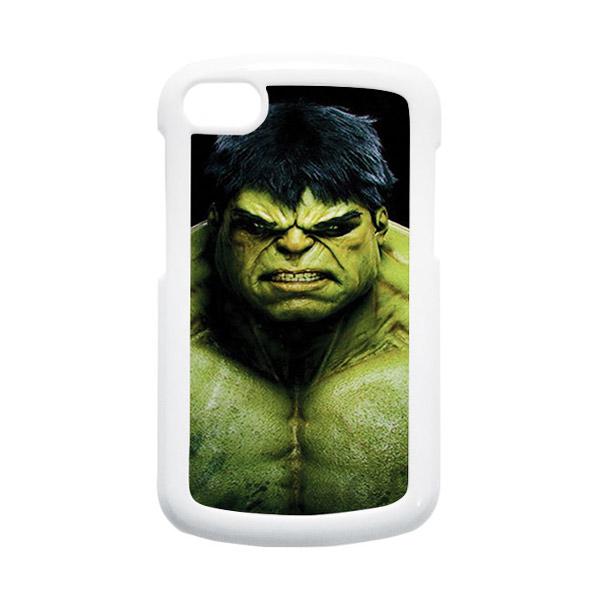 HEAVENCASE Hulk 01 Putih Hardcase Casing for Blackberry Q10