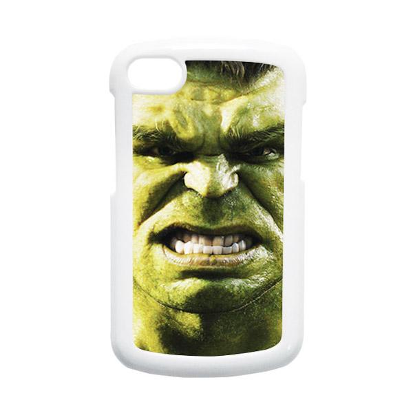 HEAVENCASE Hulk 02 Putih Hardcase Casing for Blackberry Q10