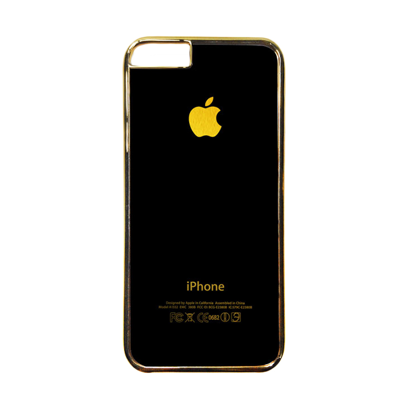 Heavencase Motif Apple Gold 01 Casing for iPhone 6 or iPhone 6s - Gold