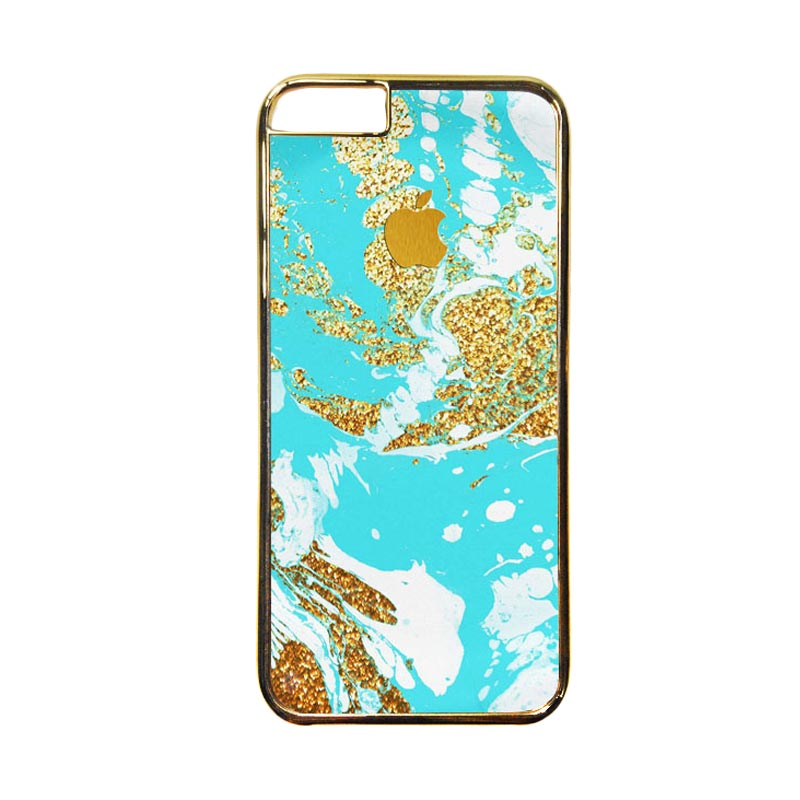 Heavencase Motif Apple Gold 03 Casing for iPhone 6 or iPhone 6s - Gold
