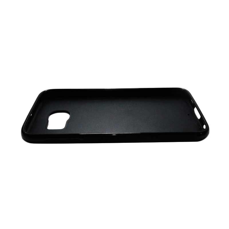 ... Jual HEAVENCASE Case Casing Samsung Galaxy S6 Case Softcase Tpu Bumper Hitam Superhero Captain America 09