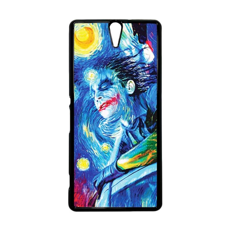 HEAVENCASE Joker 05 Hitam Hardcase Casing for Sony Xperia C5 Ultra