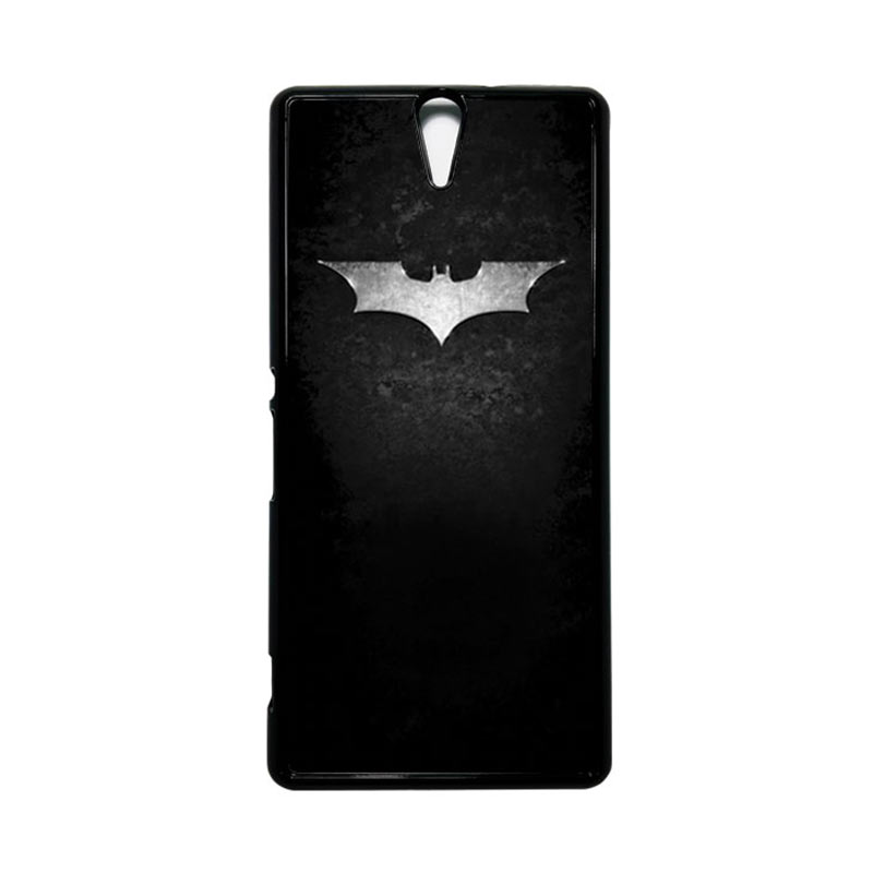 HEAVENCASE Superhero Batman 01 Hitam Hardcase Casing for Sony Xperia C5 Ultra