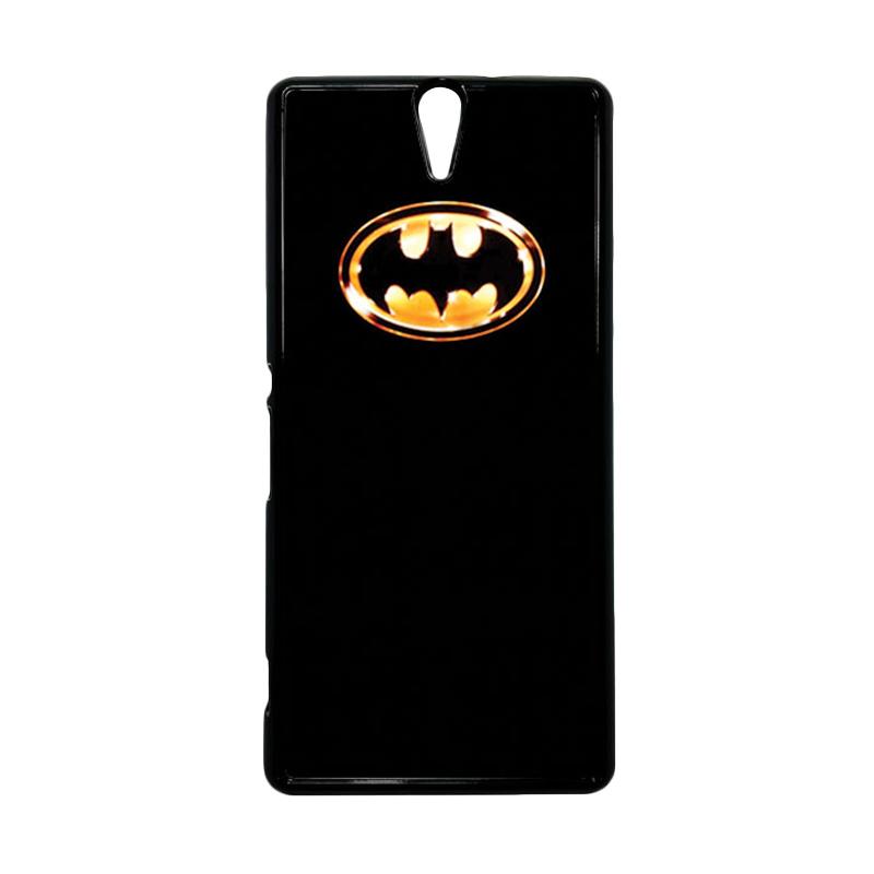 HEAVENCASE Superhero Batman 02 Hitam Hardcase Casing for Sony Xperia C5 Ultra