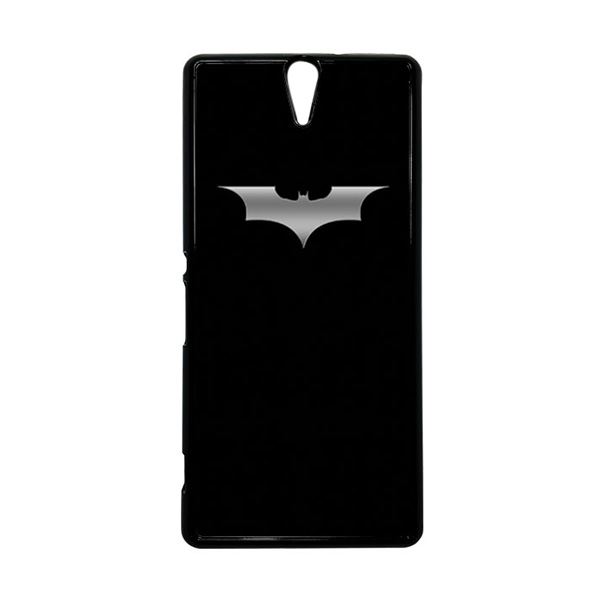 HEAVENCASE Superhero Batman 03 Hitam Hardcase Casing for Sony Xperia C5 Ultra