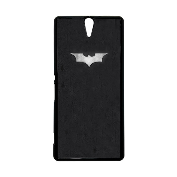 HEAVENCASE Superhero Batman 06 Hitam Hardcase Casing for Sony Xperia C5 Ultra