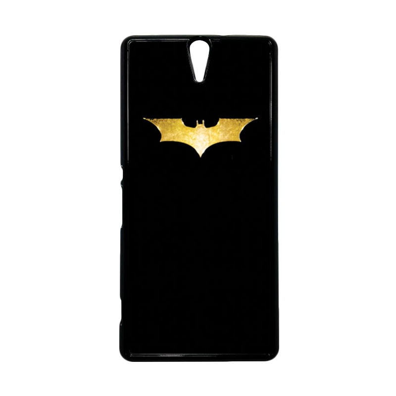 HEAVENCASE Superhero Batman 08 Hitam Hardcase Casing for Sony Xperia C5 Ultra