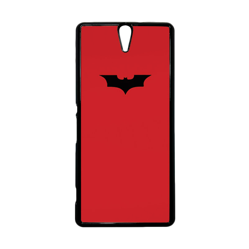 HEAVENCASE Superhero Batman 09 Hitam Hardcase Casing for Sony Xperia C5 Ultra