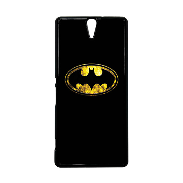 HEAVENCASE Superhero Batman 10 Hitam Hardcase Casing for Sony Xperia C5 Ultra