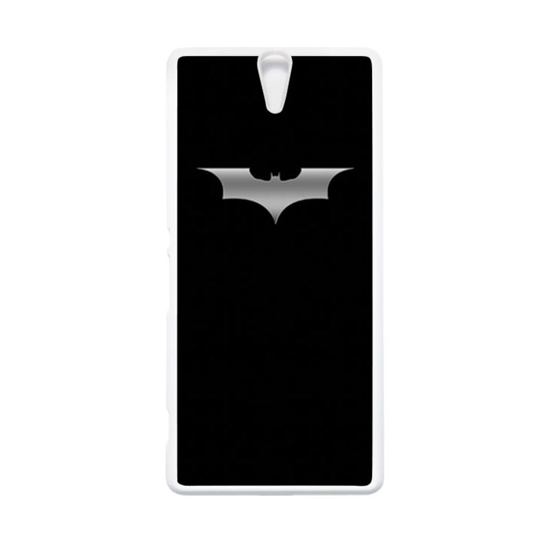 HEAVENCASE Superhero Batman 03 Putih Hardcase Casing for Sony Xperia C5 Ultra