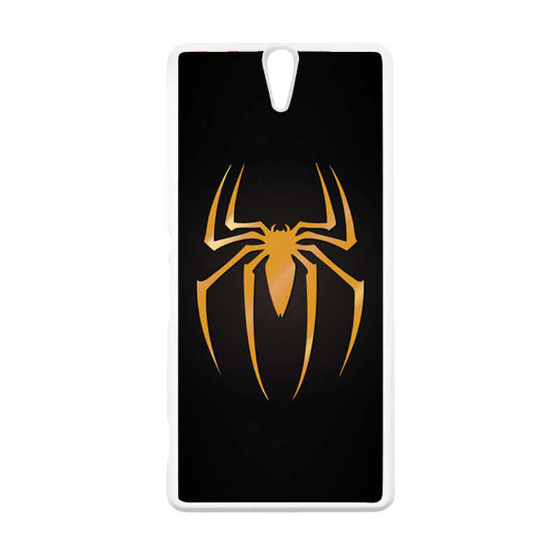 HEAVENCASE Superhero Spiderman 11 Putih Hardcase Casing for Sony Xperia C5 Ultra Case