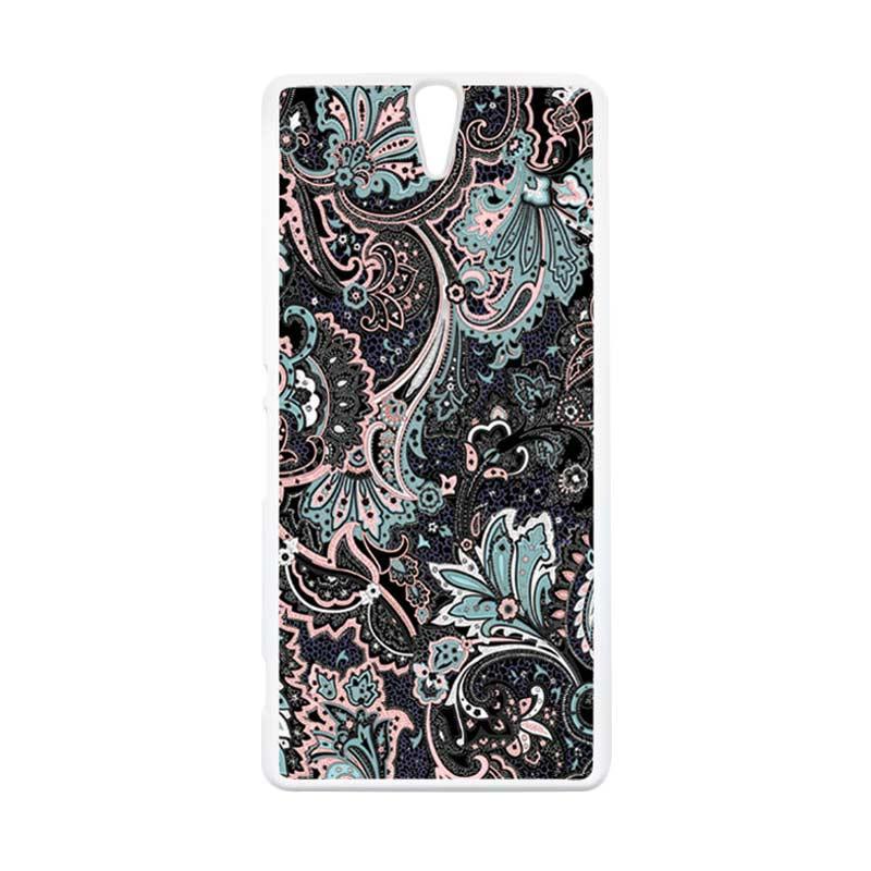 harga HEAVENCASE Motif Batik 14 Hardcase Casing for Sony Xperia C5 Ultra or Sony Xperia C5 Ultra Dual - Putih Blibli.com