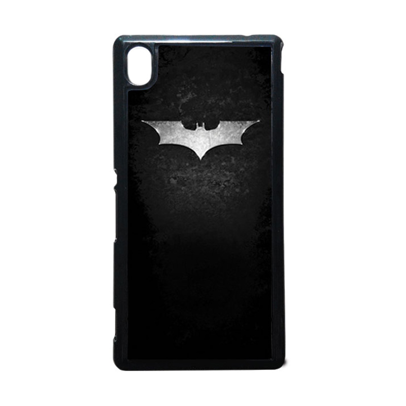 HEAVENCASE Batman 01 Hitam Hardcase Casing for Sony Xperia M4 Aqua