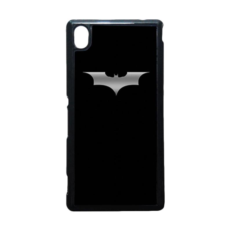 HEAVENCASE Batman 03 Putih Hardcase Casing for Sony Xperia M4 Aqua