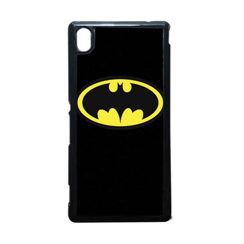 HEAVENCASE Batman 05 Putih Hardcase Casing for Sony Xperia M4 Aqua