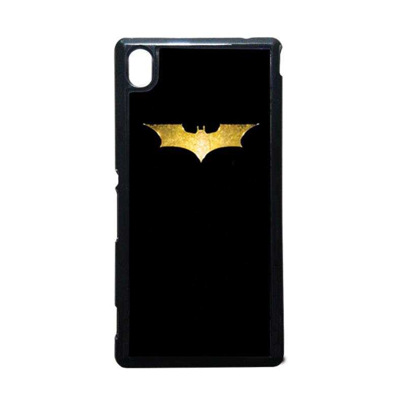 HEAVENCASE Batman 08 Hitam Hardcase Casing Sony Xperia M4 Aqua
